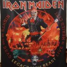 IRON MAIDEN Legacy of the Beast - Live in Mexico FLAG CLOTH POSTER WALL TAPESTRY CD LP