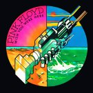 PINK FLOYD Wish You Were Here - Round Logo FLAG POSTER TAPESTRY BANNER CD Progressive Rock
