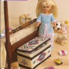 Beaded Toy Box Plastic Canvas Pattern for Dolls