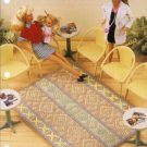 Southwest Area Rug Annies Attic  Barbie Doll Size Rug Plastic Canvas Pattern