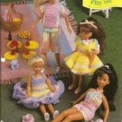 Annies Attic 9 1/2 Inch Doll Play Sets Crochet Pattern