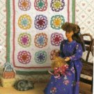 Old Fashioned Star Quilt Crochet Quilt Pattern for Barbie Size Dolls Annies Attic