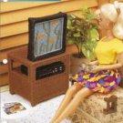 Annies Attic Barbie TV VCR Stand Plastic Canvas Pattern