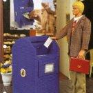 Plastic Canvas Mailbox Money Holder Pattern by Annies Attic