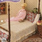 Lacy Bedspread Crochet Pattern for Barbie Doll Size Bed