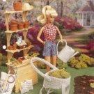 Fashion Doll Size Gardening Set Plastic Canvas Pattern