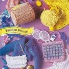 Annies Attic Barbie Fashion Doll Size Purses Crochet Patterns
