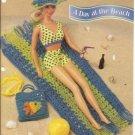 Annies Attic: Pattern Club Barbie Doll Day at Beach Crochet Pattern