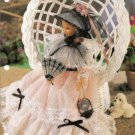 Antebellum Accessories Purse Hat and Fan Plastic Canvas Pattern