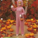 Annie's Attic: Barbie Fashion Doll Size Bunny Costume Crochet Pattern