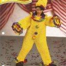 Annies Attic Barbie Doll Size Clown Crochet Pattern