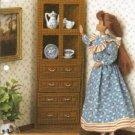 Annies Attic Corner Cabinet Plastic Canvas Pattern for Fashion Dolls