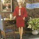 Annies Attic Barbie Doll Size Quick Easy Wardrobe Crochet Pattern