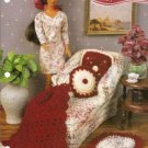 Barbie Doll Size Chaise Lounge Afghan Pillow Rug Crochet Pattern