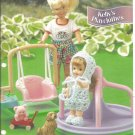 Annie's Attic, Kelly's Playclothes , Crochet Pattern for 4.5 Inch Dolls