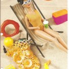 Annie's Attic, Beach Bag for Barbie Size Fashion Dolls