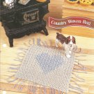 Annie's Attic Country Woven Rug Crochet Pattern for Dolls