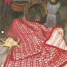 Annies Attic, High Seas Crochet Baby Afghan and Lap Robe Pattern