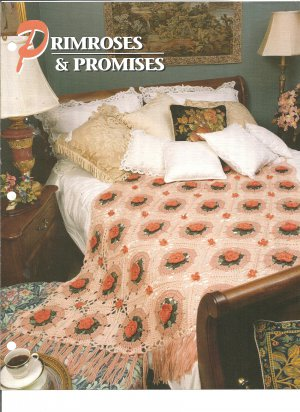 Annies Attic, Primroses and Promises Crochet Afghan Pattern