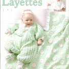 Tender Touch Baby Layettes Crochet Patterns by Leisure Arts