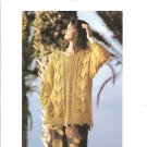 Bernat Solo The Design Collection, Sweater 1091 and Tank Top 2167 Knitting Patterns