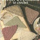 Crochet Corner Bookmarks  Patterns, Leisure Arts 2749