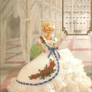 Annie's Attic The Cotillion, Miss july 1992, Crochet Pattern for Dress