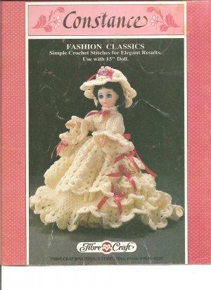 Fibre Craft Constance 15 Inch Doll Dress Crochet Pattern