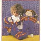 Patons Crochet Cuties, for 16 Inch Dolls  Crochet Pattern