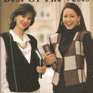 Leisure Arts  2711, Best of the Vests Crochet Vest Patterns