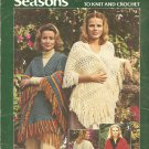 Leisure Arts 100, Stoles for 6 Seasons, Knit and Crochet Stole Patterns