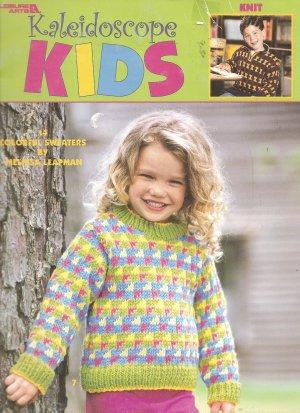 Kaleidoscope Kids 14 Colorful Childrens Sweater Knitting Patterns