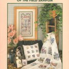 Flowers of The Field Cross Stitch Sampler and Afghan Cross Stitch Pattern