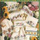 Favorite Fingertip Towels Cross Stitch Pattern, Leisure Arts 2854