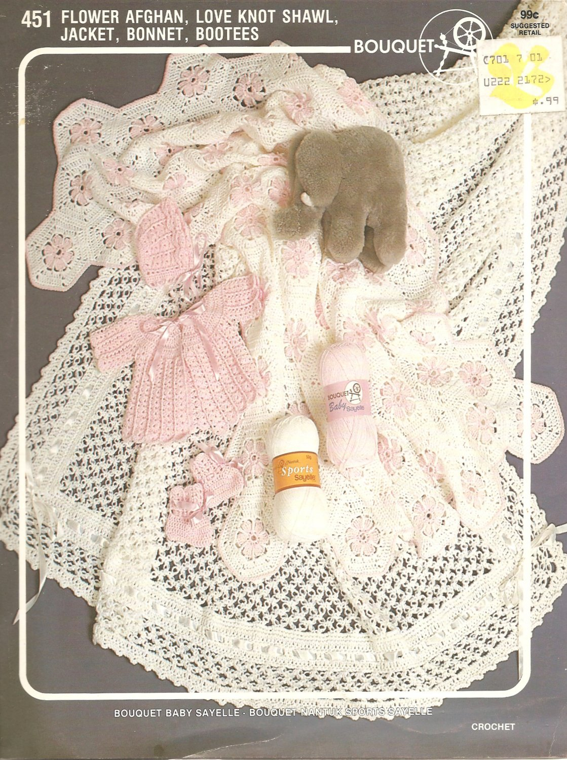 Attractive Baby Layette Crochet Patterns Ideas - Blanket Knitting ...