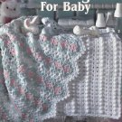 Adorable Afghans for Baby, Crochet Patterns, Leisure Arts 2421