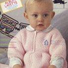 Pingouin 60, Album Layette,  Gorgeous Baby Knitting Patterns