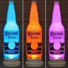 Corona Beer Big 24oz Color Changing LED Remote Control Bottle Lamp Bar Light