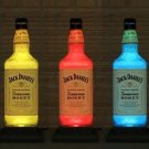Jack Daniels Honey Color Changing Remote Control Liquor Bottle Lamp Bar Light