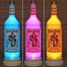 Color Changing Remote Control Captain Morgan Rum 1 Liter LED  Bottle Lamp Light