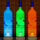 Grey Goose Vodka Color Changing Remote Controlled Bottle Lamp Bar Light LED