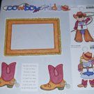 Cowboy Kids-MMI-Retired HTF-Scrapbook set