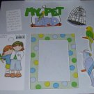 My Pet Bird-MMI-Retired HTF-Scrapbook set
