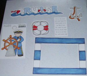 Our Cruise-MMI-Retired HTF-Scrapbook set