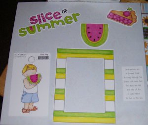 Slice of Summer-MMI-Retired HTF-Scrapbook set
