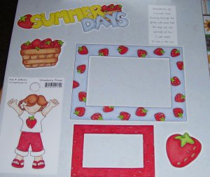 Summer Days-MMI-Retired HTF-Scrapbook set
