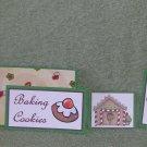 Baking Cookies-5pc Mat Set