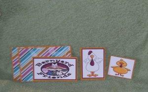 Barnyard Friends Chick-5pc Mat Set