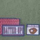 Batter Up Boy-5pc Mat Set