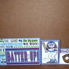 Batter Up Girl-5pc Mat Set